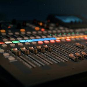 Sound board. Photo by Dmitry Demidov.